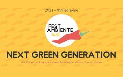FestambienteSud 2021, Next Green Generation